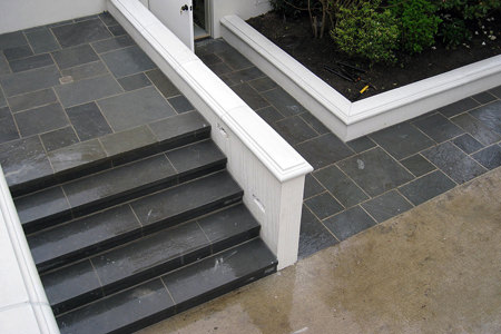 Gradini per scale in pietra